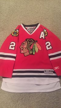 Duncan Keith Home BlackHawks Jersey Kids Large Indian Head Park, 60525