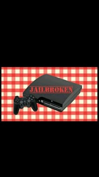 black Sony PS3 with gta5 and bo2 mod menu for both 50 km