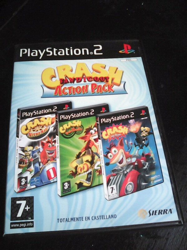 PS2 Crah Bandicoot Action Pack