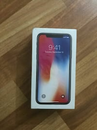 iphone x 64 gb space gray sifir kapali kutu Yayla Mahallesi, 06220