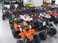 assorted ATV's and Dune Buggy's