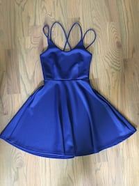 Fun fit & Flare dress-royal blue- Size Small Spring Hill, 37174