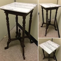 Marble Top Table Ambler, 19002