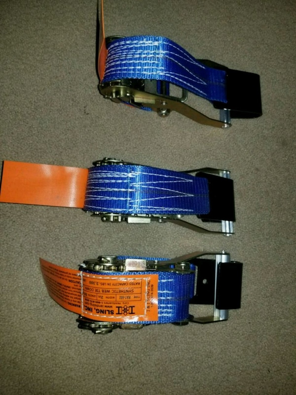 d9a4cf514dd Used Blue tie down strap for sale in Alexandria - letgo