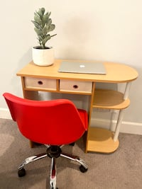 Cute modern desk (chair not included )