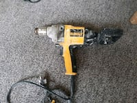 yellow and black DeWalt cordless power drill 1963 km