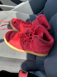 Red Nike AirForce One Wilmington
