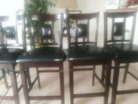 black wooden dining table set Chambersburg, 17201