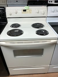 Whirlpool beige electric coil range stove Woodbridge, 22191