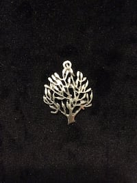 silver-colored butterfly pendant Mississauga