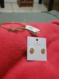 Kate Spade bracelet and earrings