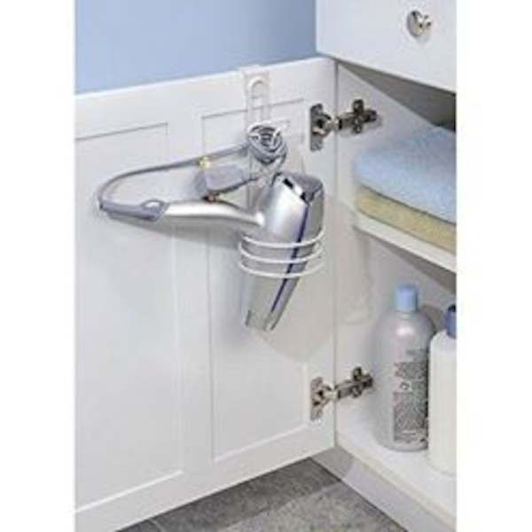 Awesome Over Cabinet Hair Dryer Holder For Bathroom Interior Design Ideas Ghosoteloinfo