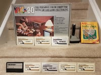 RARE Boxed Commodore Vic 20 Console Bundle 9 Games & Joystick Whitby