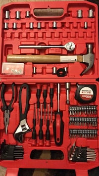 Red and black tool set Ashburn, 20148