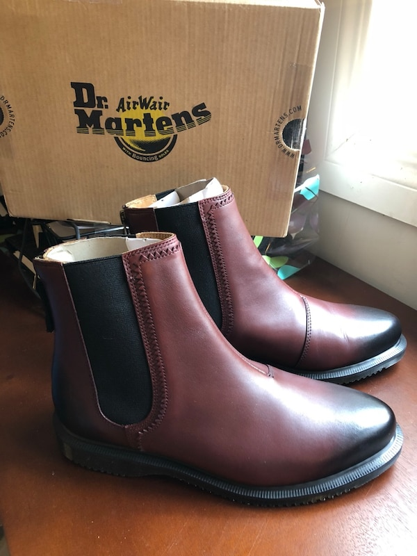 0d3d736d887 Used Dr. Martens Zillow Cherry Red Chelsea Boots size 7 for sale in Regina