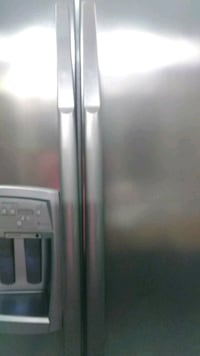 gray side-by-side refrigerator Gurley, 35748