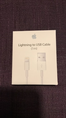 Lightning iPhone/ iPad ladekabel