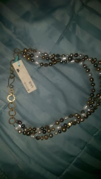 All AK variable choker pearl necklace