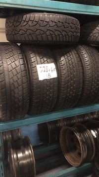 225 60 15 winters pirelli new Richmond Hill, L4C 5R4