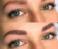 Microblading bold brows from phi academy Richmond Hill, L4C 3T1