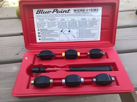 Blue point micro strike mallet set