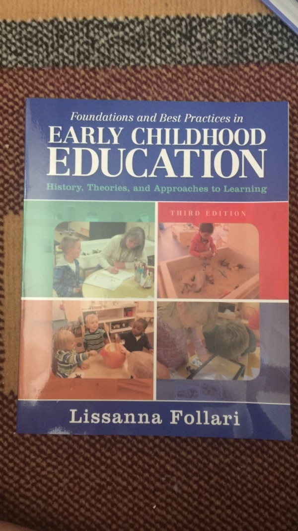 Used Early Childhood Education Book By Lissanna Follar For Sale In
