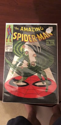 The amazing spider-man comic book Gainesville, 20155