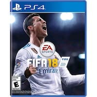 Fifa 18 to ps4 Bjerke, 0591