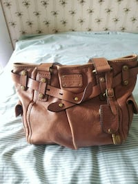 Authentic Fossil brown leather purse Toronto, M1P 4P5