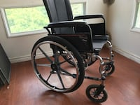 Black and Grey Wheelchair Good Condition  Mississauga, L5A 3T8
