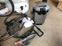 gray and black canister vacuum cleaner Vaughan, L4J 2V1