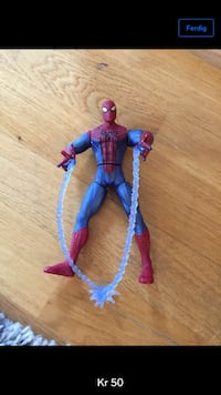 Spider-Man actionfigur screenshot Stavanger, 4032