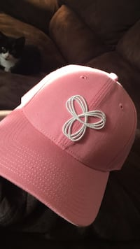Pink and white TNA fitted cap Winnipeg, R3J 3V5