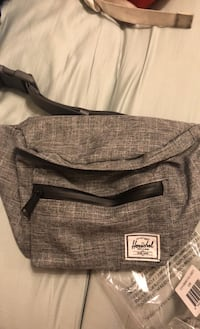 Grey hershel fanny pack Mississauga, L4X 1T6
