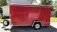 6x12 Haulmark enclosed utility trailer with rear ramp Yorktown, 23692