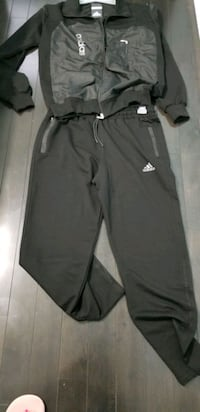 Adidas Black Men's truck suit Xl Mississauga, L5L 5J9