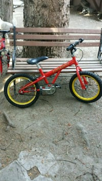 red and black BMX bike Lake Country, V4V 1M4