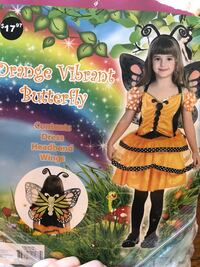 Vibrant butterfly custome for kids Long Beach, 90808