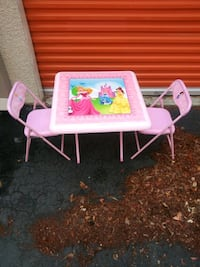 Disney princess table and chairs North Charleston
