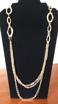 gold chain link necklace with pendant Mechanicsville, 20659