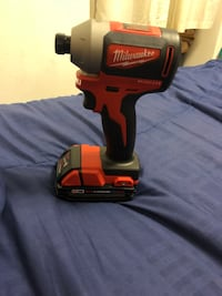 red and black Milwaukee cordless impact wrench Moreno Valley, 92555