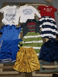 Name brand boys clothes size small and medium Midland, 48640