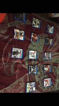 Assortment Of PlayStation 4 Games Houston, 77022