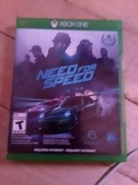Need for Speed Xbox One game case Detroit Lakes, 56501