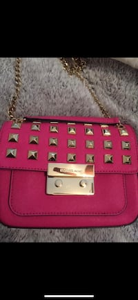 pink leather 2-way handbag Chantilly, 20152