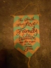 Southern quote wall hanging
