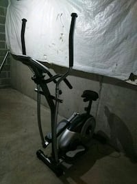 black and gray elliptical trainer Scottsville, 14546