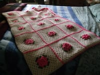 white, pink, and green floral textile Wappingers Falls