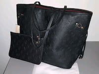 Black Neverfull MM Tote w/ Pouch - New Louis Vuitton