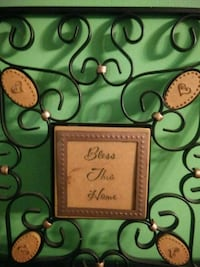 Bless this home metal wall picture Delhi, 52223